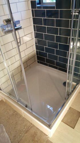 douche installeren